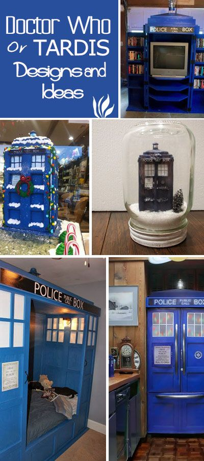 Coolest Doctor Who or TARDIS Designs and Ideas!