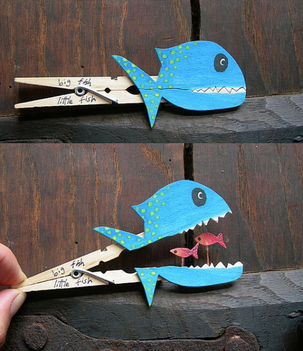 Fish crafts for kids hative for Neat craft ideas