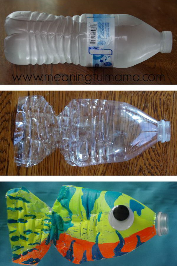 Fish crafts for kids hative for Easy recycling ideas