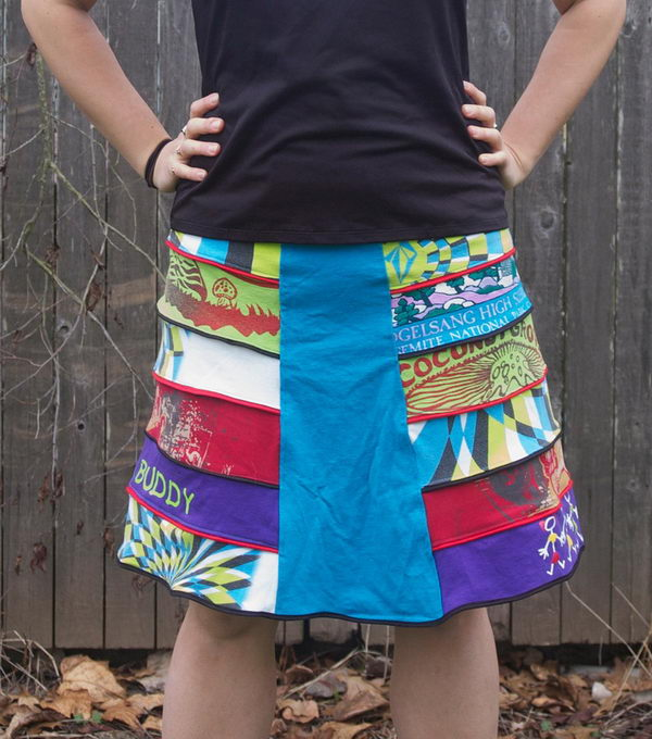 20 Cool Handmade Girl Skirts Hative