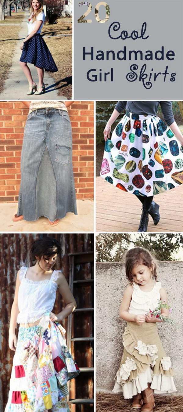 Cool Handmade Girl Skirts!