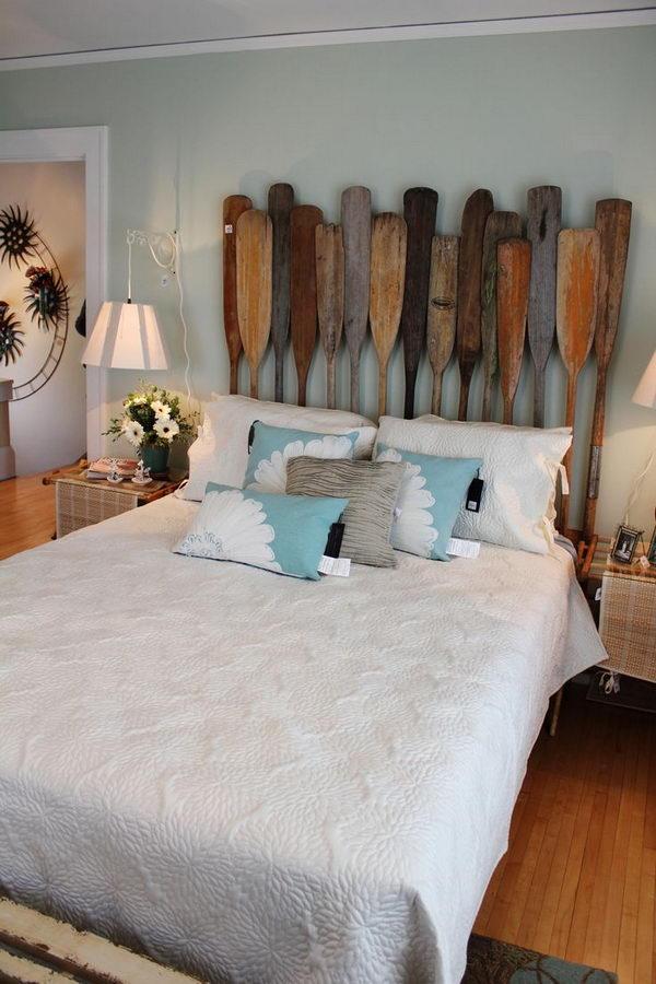 20 creative headboard decorating ideas hative - Cabecero cama original ...