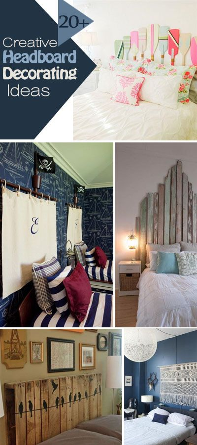 Creative Headboard Decorating Ideas For Your Bedrooms!