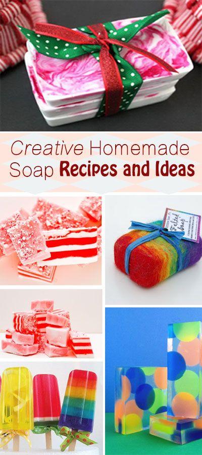 Creative Homemade Soap Recipes and Ideas!
