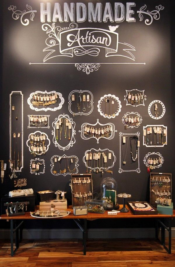 30 creative jewelry storage display ideas hative for Jewelry displays