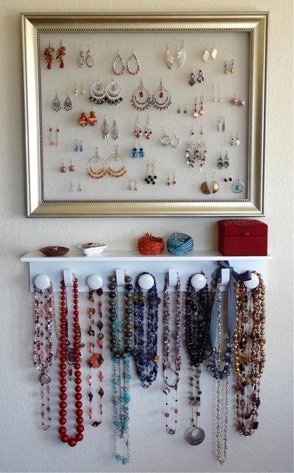 30 Creative Jewelry Storage Amp Display Ideas Hative