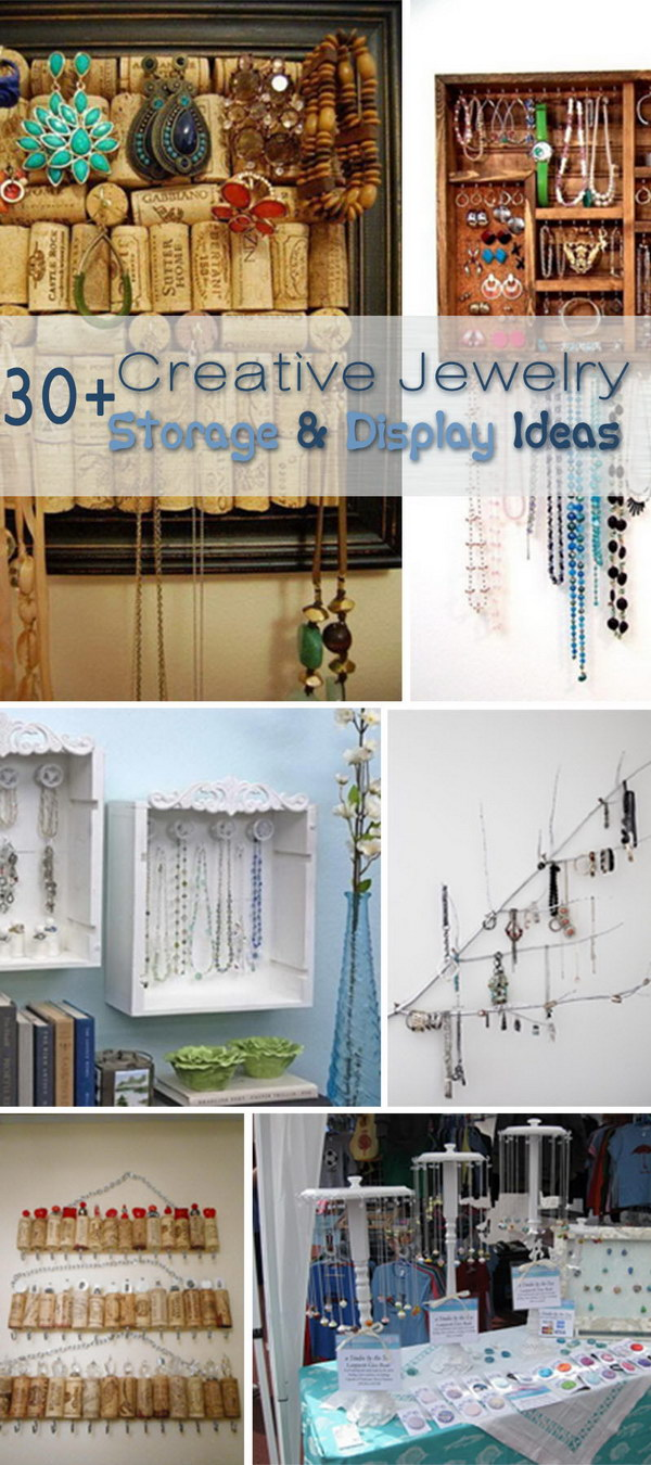 Creative Jewelry Storage & Display Ideas!