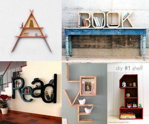 Cool Letter Shaped Shelves