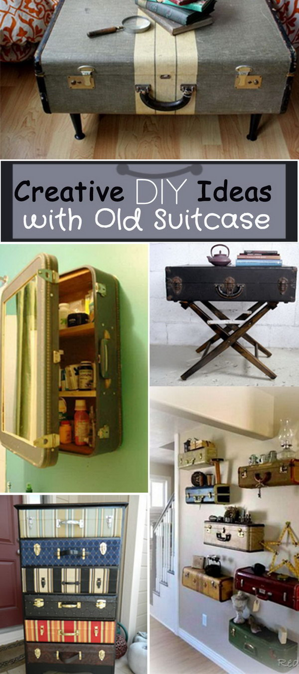 Creative DIY Ideas with Old Suitcase!