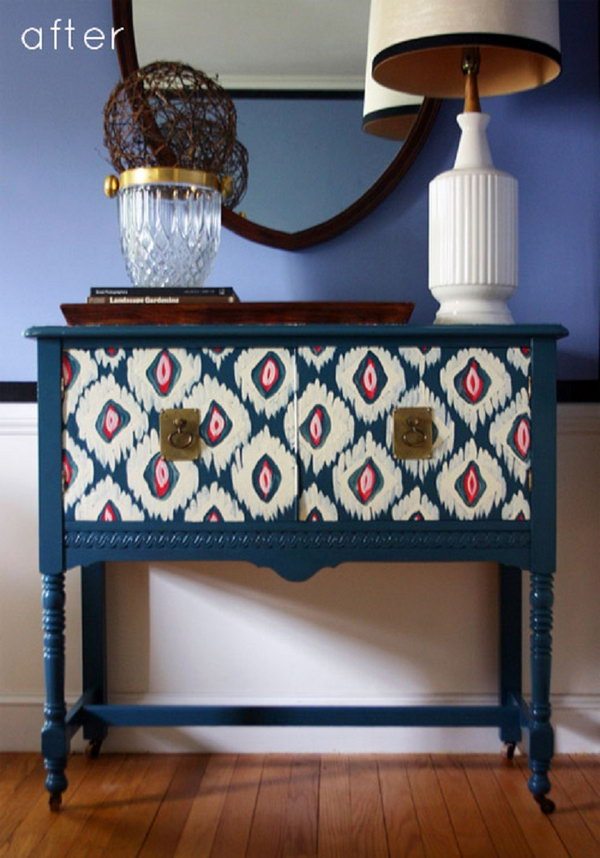 Creative diy painted furniture ideas hative - Hand painted furniture ideas ...