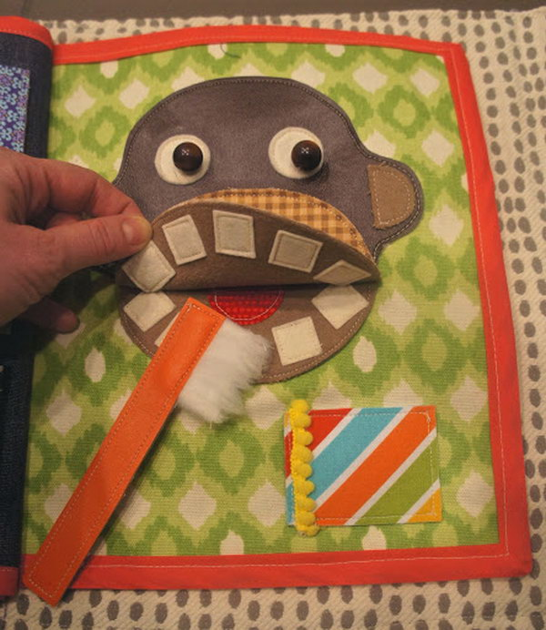 And creative quiet book. http://hative.com/quiet-book-ideas-for-kids