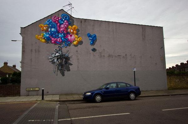 Street Art By Whoam Irony Hative