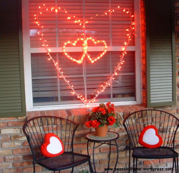 30 cool string lights diy ideas hative for Home decor ideas string lights