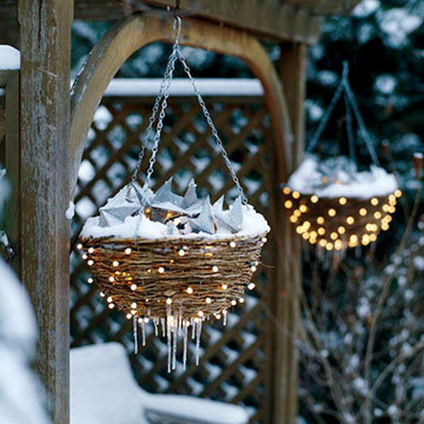 30+ Cool String Lights DIY Ideas - Hative