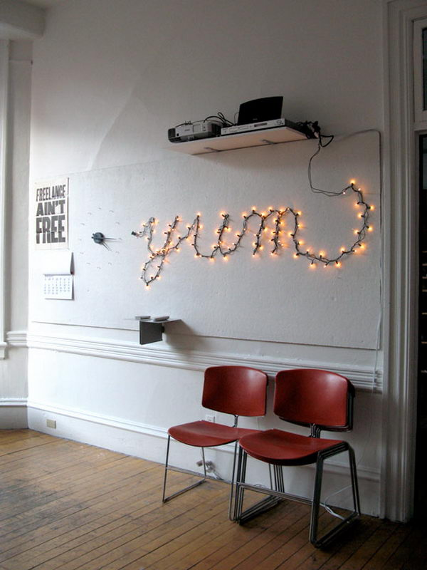 30 Cool String Lights DIY Ideas Hative
