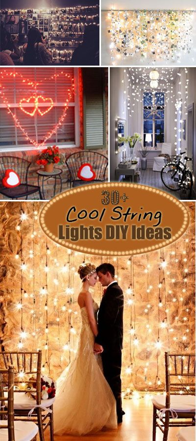 Cool String Lights DIY Ideas!