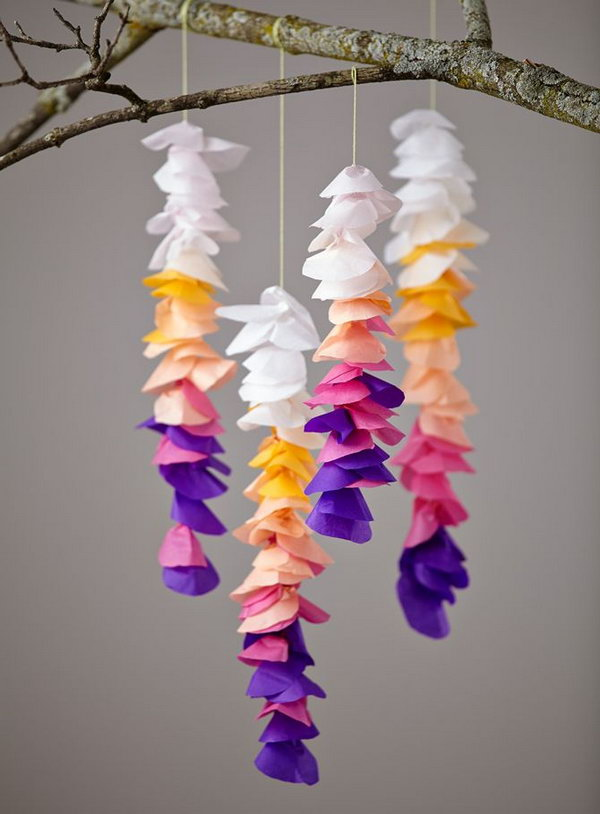 Creative tissue paper crafts for kids and adults hative for Creative craft ideas with paper