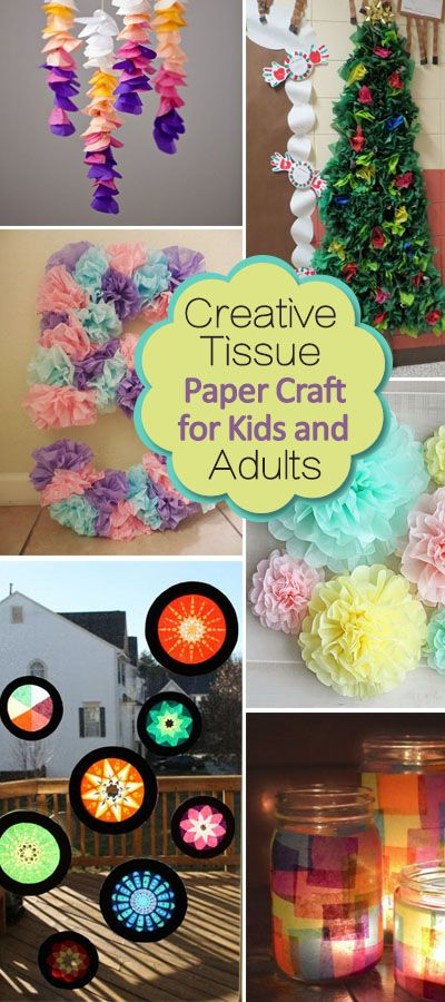 paper crafts ideas adults creative tissue paper crafts for and adults hative 5088