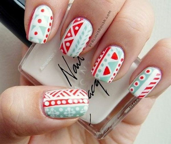 Cool tribal nail art designs hative cool tribal nail art ideas and designs work to mark rites of passage helped prinsesfo Image collections