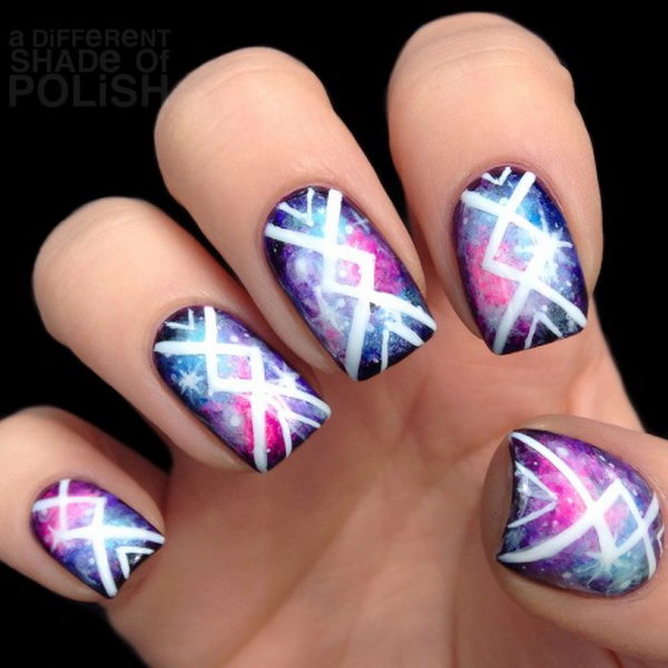 Nail Art Ideas: Cool Tribal Nail Art Designs