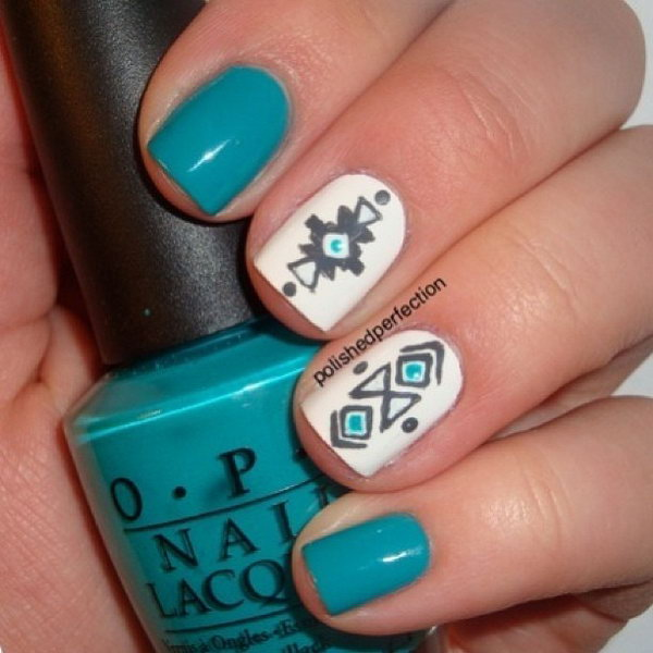 Cool Tribal Nail Art Designs Hative
