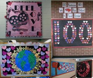 Creative Valentine S Day Bulletin Board Ideas Hative