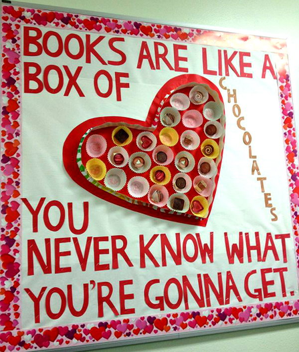 Books are like a box of chocolates. You never know what you're gonna get.