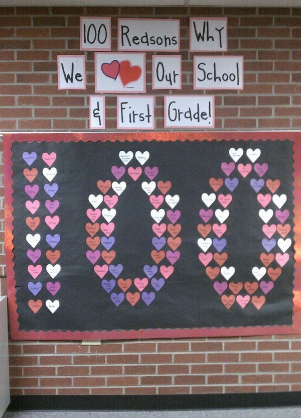 100 Reasons Why We Love Our School,