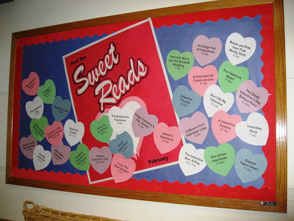 Classroom Design For Valentines Day ~ Creative valentine s day bulletin board ideas hative