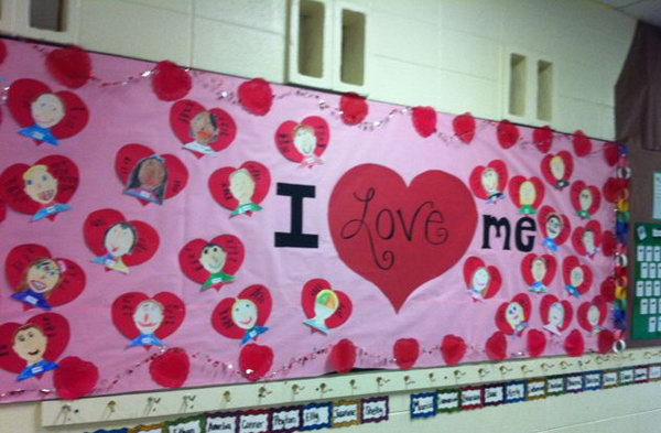 Creative Valentine S Day Bulletin Board Ideas Hative