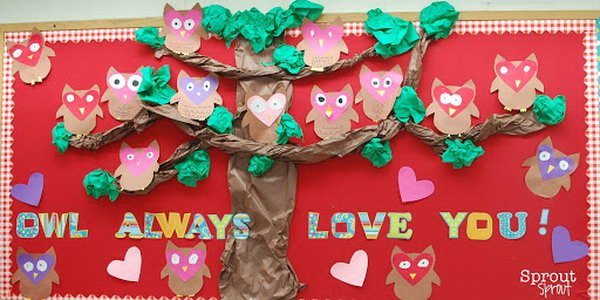 Owl Always Love You Bulletin Board,
