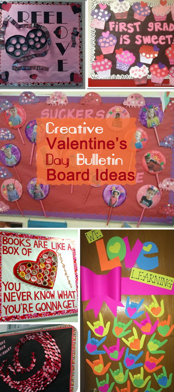 Creative Valentine's Day Bulletin Board Ideas!