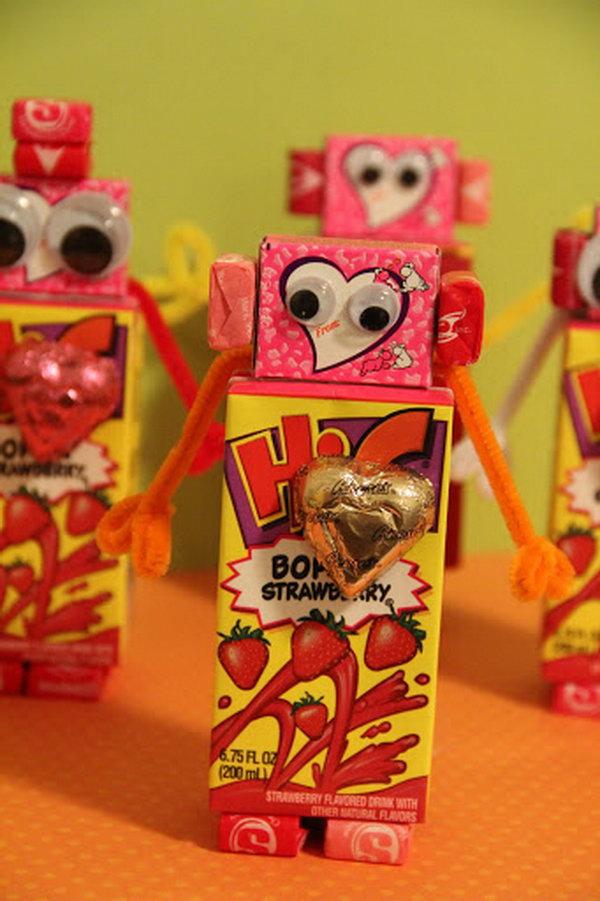 Valentines Robot,