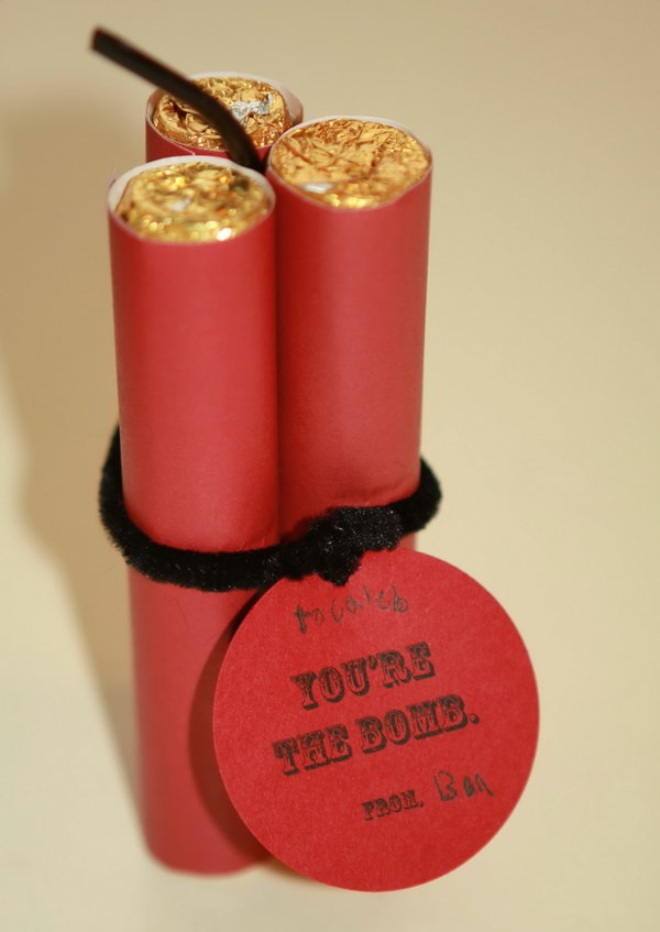 Youu0027re The Bomb. Rolls Of Rollo Candies Look Like Old Fashioned TNT,