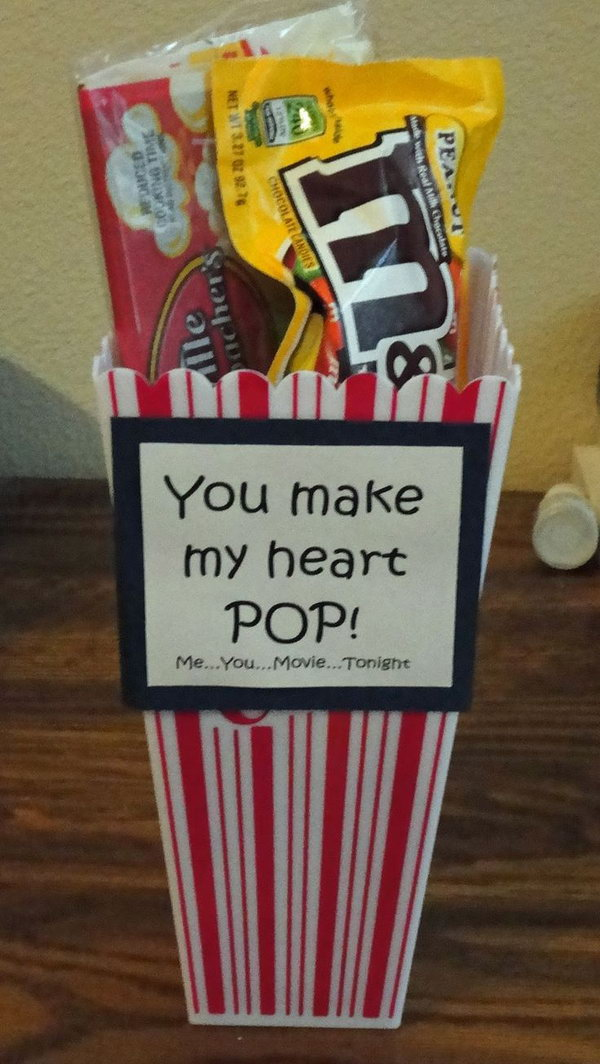 20 cute valentine 39 s day ideas hative for Sweet valentines day gifts for her