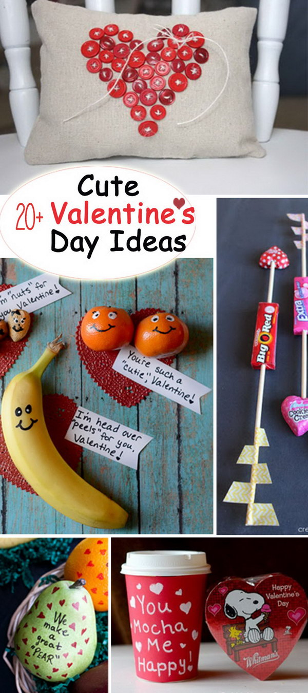 20 cute valentine 39 s day ideas hative for Valentines day ideas seattle