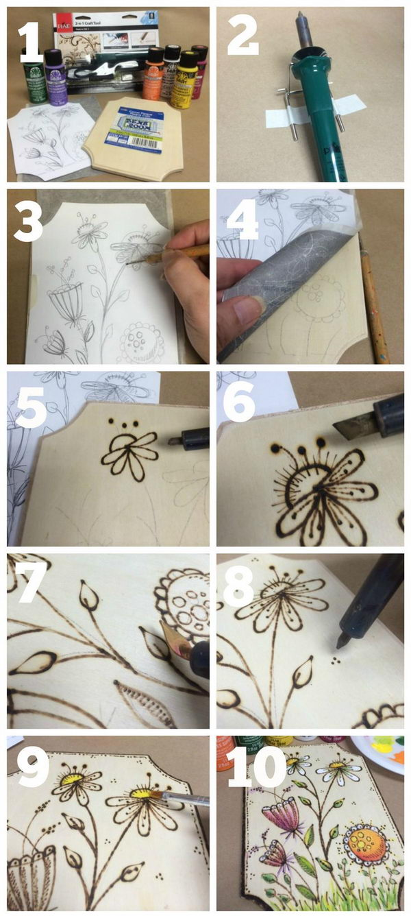 Personalized Wood Frame Craft