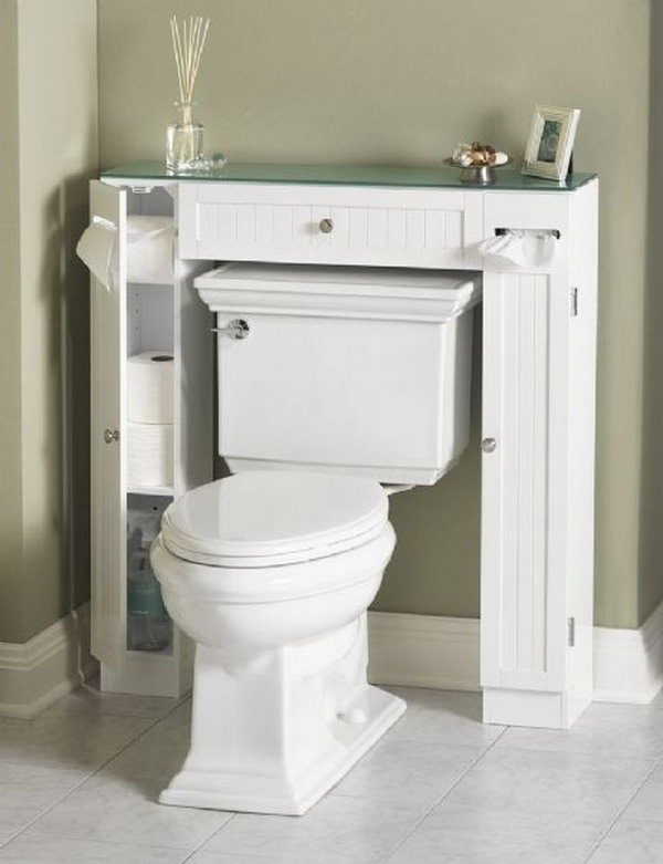 your regular cabinet and keeps everything organized in your bathroom
