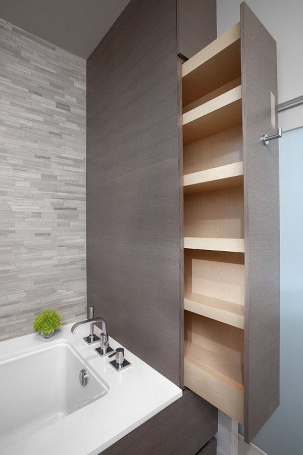 20 clever bathroom storage ideas hative