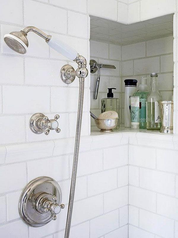 20 Clever Bathroom Storage Ideas - Hative