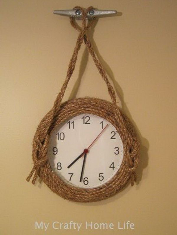 This Nautical Wall Clock Would Be A Cute Idea For Either The Sailboat  Themed Pool Room