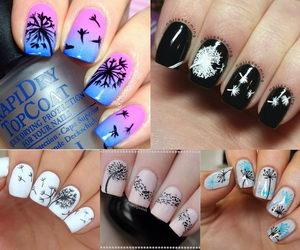 Cute dandelion nail art designs hative prinsesfo Gallery
