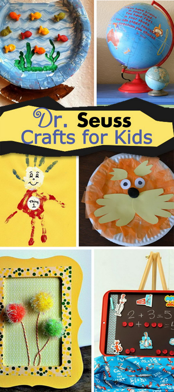 Dr. Seuss Crafts for Kids!