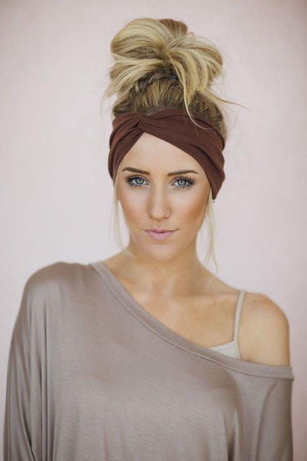 hairstyles with kanekalon hair : 25 Cool Hairstyles with Headbands for Girls - Hative