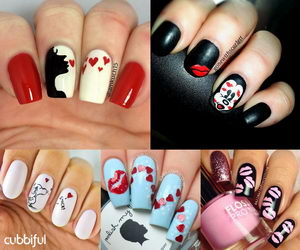 Sweet kiss nail art designs hative prinsesfo Image collections