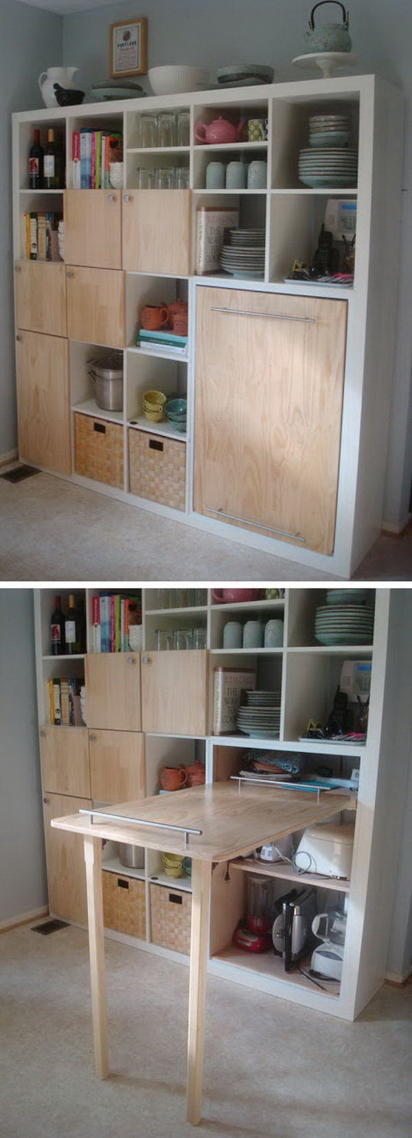 Clever kitchen storage ideas hative - Clever storage for small spaces pict ...