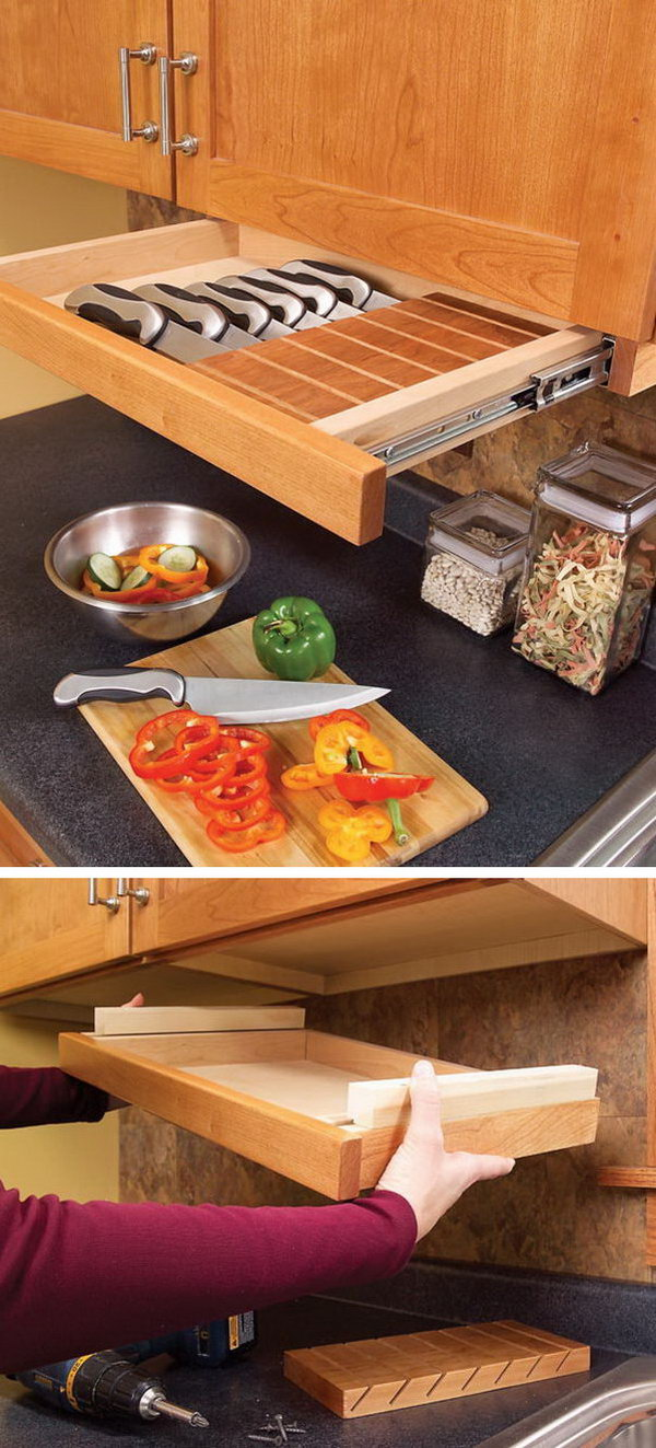 clever kitchen storage ideas - hative