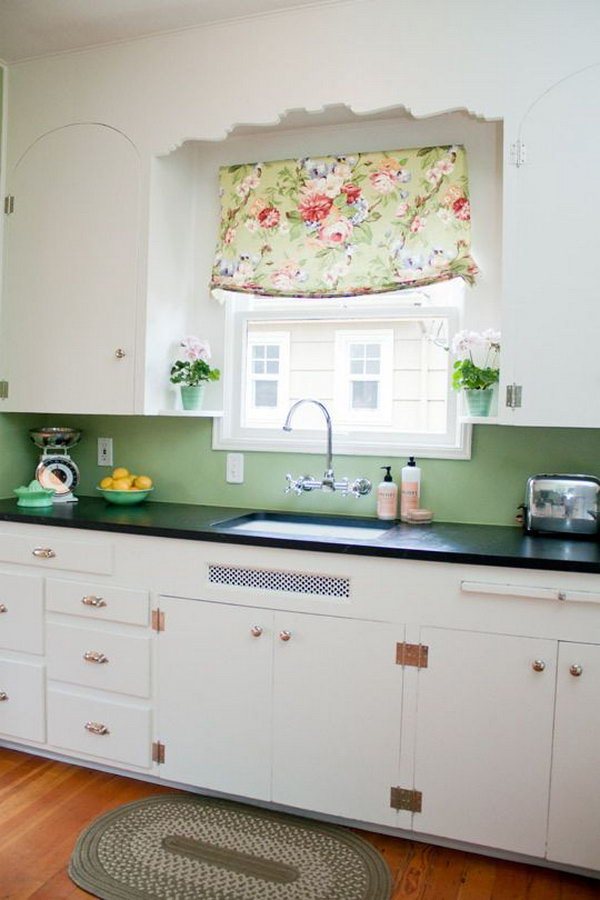 Creative Kitchen Window Treatment Ideas Hative