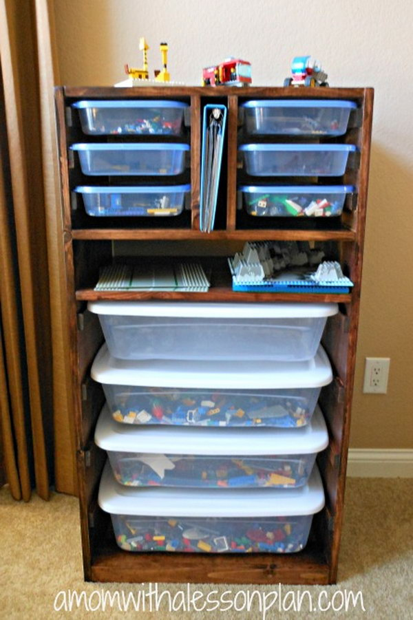 Creative Lego Storage Ideas Hative