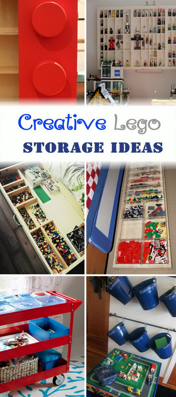Creative Lego Storage Ideas!